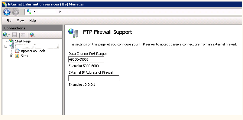 IIS FTP сервер в passive mode за Cisco ASA | Shining apples